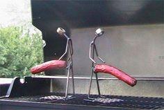 hot dog skewers