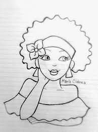 40 Super Ideas For Embroidery Riscos Menina Hand Embroidery Patterns, Embroidery Stitches, Drawing Sketches, Art Drawings, Coloring Books, Coloring Pages, Afro Art, Fabric Painting, African Art