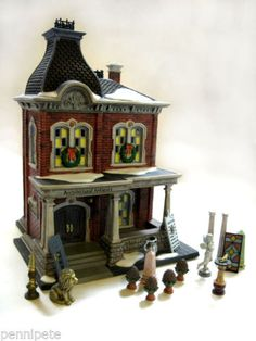 Architectural-Antiques-17-Piece-58927-Dept-56-Christmas-In-The-City-Retired-MIB
