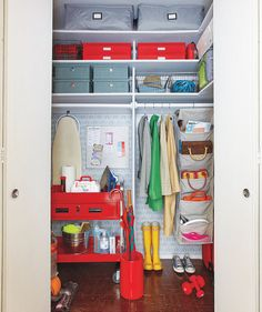 time to tackle your messy cluttered closet here we show you how to do ...