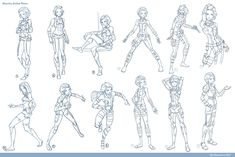 Action Poses for Drawing | Boy Poses http://jeteffects.deviantart.com/art/Alacrity-Action-Poses ...