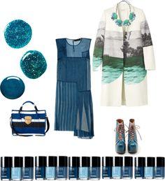 """blue"" by ginolabambola on Polyvore"