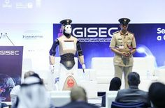 A friendly robotic cop is now maintaining law and order in Dubai. A robotic cop has just started work in Dubai and the local police force wants to employ lots of them by Police Test, Police Academy, Dubai, Police Officer Requirements, Exams Tips, Local Police, Law And Order, Digital Trends, Cool Tech