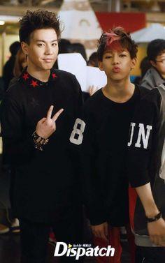 'JYP Nation' LINE star Yugyeom and Bam Bam