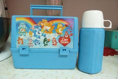 Vintage Care Bears lunchbox 1980s collectible