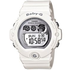 Casio - Baby-G White Ladies Watch - BG-6900-7ER  RRP: £80.00 Online price: £59.99 You Save: £20.01 (25%)  www.lingraywatches.co.uk