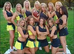 Hot college cheerleaders oregon ducks