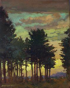 Jan Schmuckal - tonalism - impressionism