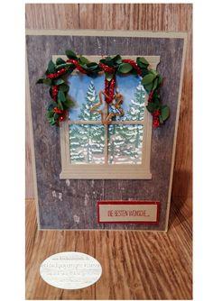 A snowy day – Handgefertigte Karten