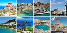 Vacanță fantastică pe insula zeilor și a nimfelor - Rodos - GoTravel, bilete de avion, rezervari hoteluri, destinatii de vacanta