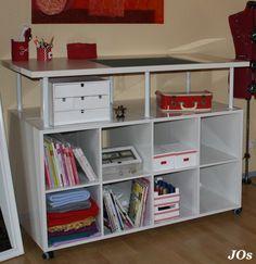 zuschneidetisch tutorials n hen pinterest tisch n hzimmer und n hen. Black Bedroom Furniture Sets. Home Design Ideas