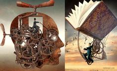25 Stunning Surreal Illustrations and Creative Photo Manipulation by Igor Morski. Read full article: http://webneel.com/webneel/blog/25-stunning-surreal-illustrations-creative-photo-manipulation-igor-morski | more http://webneel.com/paintings | Follow us www.pinterest.com/webneel