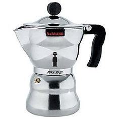 Moka Alessi Stovetop Espresso by Alessi  Used daily by the hubby