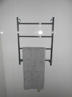 New wall heated towel racks, great for those winter days Bathroom Renovations Brisbane, Towel Racks, Winter Day, Norman, Park, Towel Shelf, Parks, Towel Holder