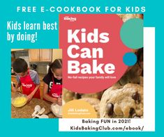 Kids learn best by doing! Our FREE eCookbook has perfect recipes for kids to learn the art of baking while learning hands-on fun. Click link in profile and get download immediately.