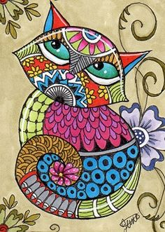 All sizes | Zentangle Cats_01Swap | Flickr - Photo Sharing!