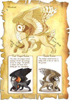 Flight Rising Bestiary: Owlcat by neondragon on deviantART