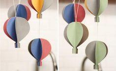 Móvil de globos aerostáticos - IMujer