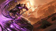 Warcraft Fan Art Gallery - Medivh The Guardian - Hearthstone Fantasy Girl, Dark Fantasy, Samsung Galaxy S6, World Of Warcraft Wallpaper, Hearthstone Heroes, Panda Illustration, War Craft, Heroes Of The Storm, The Draw