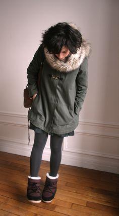 Marje parka / Prairies de Paris snow boots