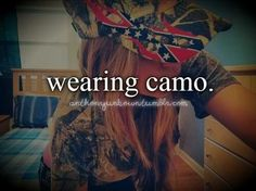 Wishing my closet was full of camo