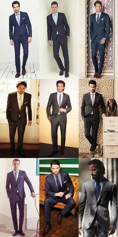 Men's Smart Wedding Suits Inspiration