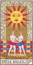 Il Sole nei Tarocchi di Oswald Wirth