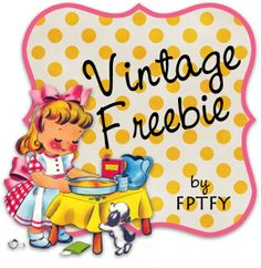 Free vintage clip art  digital frame by FPTFY web ex by Free Pretty Things For You!, via Flickr