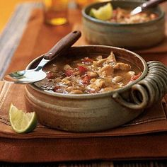 White Bean and Turkey Chili | CookingLight.com