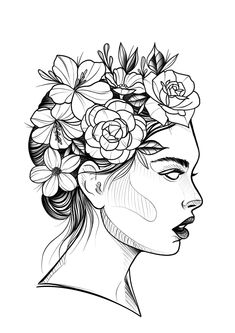 Best Picture For Makeup Art clown For Your Taste You are looking for something, and it is going to tell … Pencil Art Drawings, Art Drawings Sketches, Tattoo Drawings, Tattoos, Art Sketchbook, Tattoo Studio, Doodle Art, Art Inspo, Line Art
