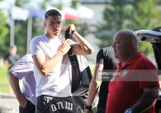 Jan Bednarek arrive at Arlamow Hotel for the second phase of preparation for the 2018 FIFA World Cup Russia on May 2018 in Arlamow, Poland. Get premium, high resolution news photos at Getty Images Fifa World Cup, Two By Two, Polish, Football, Baseball Cards, News, Sports, Fictional Characters, Image