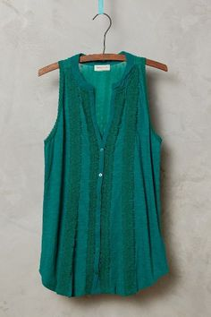 Jenson Tank in Turquoise (I want this in every color!! - anthropologie.com