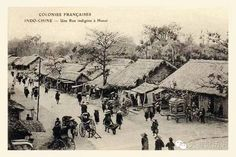 Hanoi Street Photo in French Colonial Period, Vietnam Old Pictures, Old Photos, Vintage Photos, Tonkinese, Vietnam History, French Colonial, Hanoi Vietnam, Indochine, Anglo Saxon