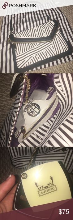Henri Bendel purse NWT Includes dust bag tag and a matching compact inside... still has original tissue henri bendel Bags Shoulder Bags