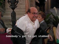 How I feel at EVERY family dinner