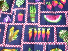 1 Large Microwave  Cooking Bag in Vegetable  by Stitchinthread
