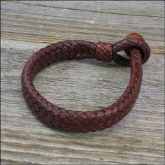 The 16 Strand Mens Leather Bracelet