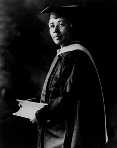 U.S.A. EDUCATION. HUMAN RIGHTS. Dr Anna Julia Cooper's Graduation Photo, 1923. (1858-1964) Born into enslavement but upon receiving her Ph.D in history from the University of Paris-Sorbonne in 1924, Cooper became the fourth African-American woman to earn a doctoral degree. Author, educator, speaker and one of the most prominent African-American scholars in United States history. She was also a prominent member of Washington, D.C.'s African-American community.