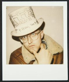 Art is for everybody Keith Haring 1989 Polaroid courtesy of the Keith Haring Foundation Keith Haring The Political Line opens November 8 2014 Matisse, Jm Basquiat, Modern Art Artists, Keith Allen, Keith Haring Art, Queer Art, Aesthetic Indie, Gay Art, Andy Warhol