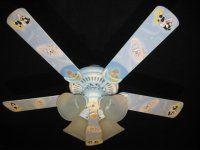 """Looney Tunes 44"""" Tri Mount Ceiling Fan ...tweety"""