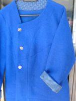 asymmetrisch blau