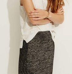 Lou & Grey Slinky Spacedye Maxi Skirt