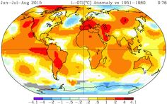 The summer of 2015 was Earth's hottest on record, NASA data show - The Washington Post