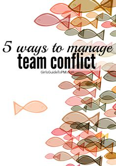 Even in simple, straightforward projects, conflict between people at work are common. Here are 5 tips on resolving conflict between team members.
