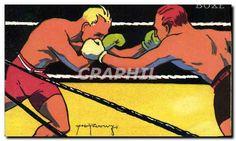CPA Boxe Jeux Olympiques Paris 1924 TOP