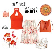 """""""Summer Florals"""" by coolmommy44 ❤ liked on Polyvore featuring J.Crew, Miss Selfridge, Lodis, Floralskirts and polyvorecontest"""