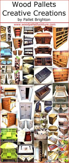 There are some materials which are easy to modify just like the wood pallets and a person can reshape them into anything with the imagination that comes to his/her mind. So, here we are going to present some creative wooden pallet creations by pallet Brighton that you will surely love to copy for your home or office.