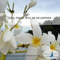 The answer just might be recovery from addiction. Find out about your options. SerenityVista.com in Panama is a private-pay, holistic, loving and confidential treatment center, located in Paradise! Find out more: 507-6839-0569