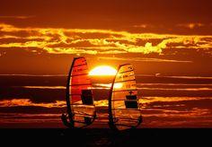 O windsurf surgiu em meados da década de 60, unindo o surf com a vela. Esse esporte requer muita resistência física, principalmente de braços, pernas e costas. Além de fazer muito bem à saúde, essa atividade queima até 1000 calorias por hora. Aproveite o verão e pratique um esporte novo.