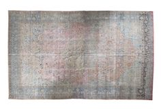 11x19 Vintage Distressed Tabriz Carpet